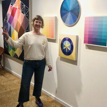 Narangkar Glover and Artwork at Seven Sisters PDX